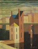 George Copeland Ault(American, 1891-1948)