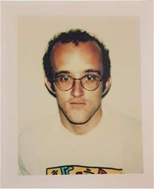 ANDY WARHOL (1928-1987),KEITH HARING 1986