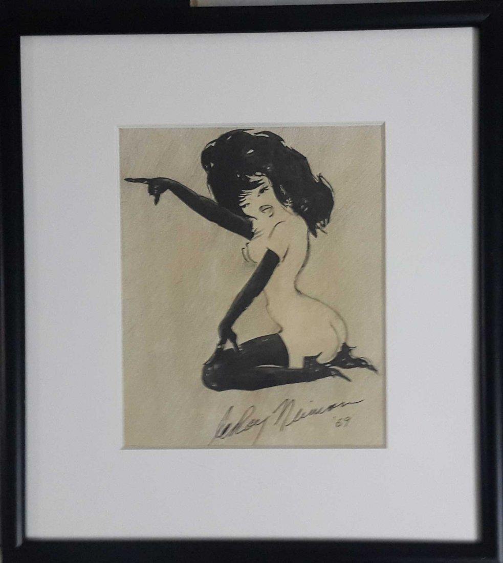 LeRoy Neiman-Femlin-Original hand signed Provenance