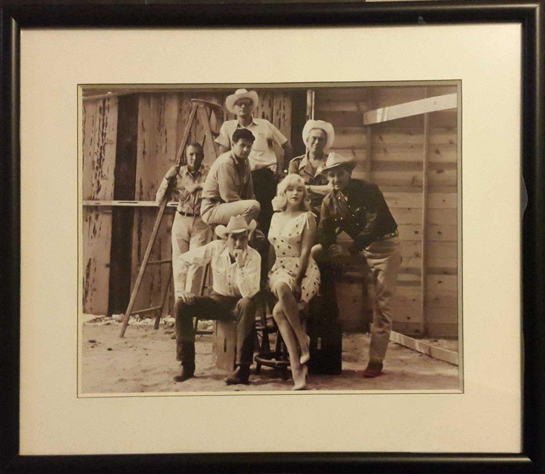 "ELLIOT ERWITT'S ""MARILYN MONROE MISFITS Photo Signed"
