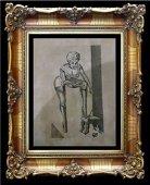 GENE BILBREW aka Eneg Original Art for EXOTIQUE