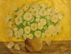 Fairfield Porter–still Life–listed Artist-oil On Canvas