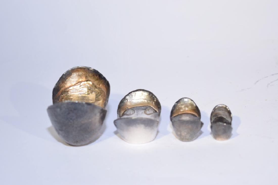 Set of Four Chinese Silver Ingots - 2