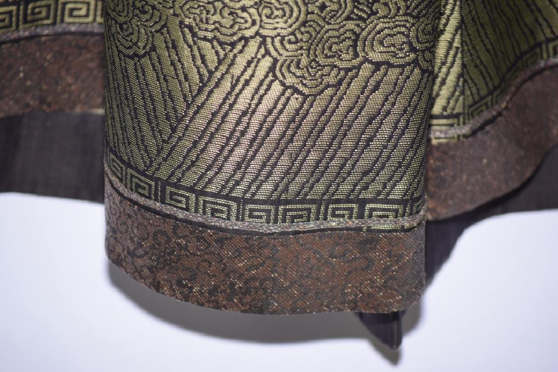 Qing Chinese Embroidered Emperor's Summer Robe - 17