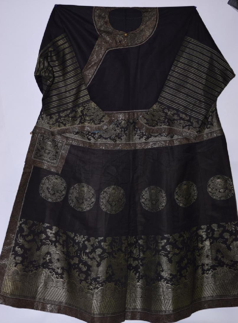 Qing Chinese Embroidered Emperor's Summer Robe