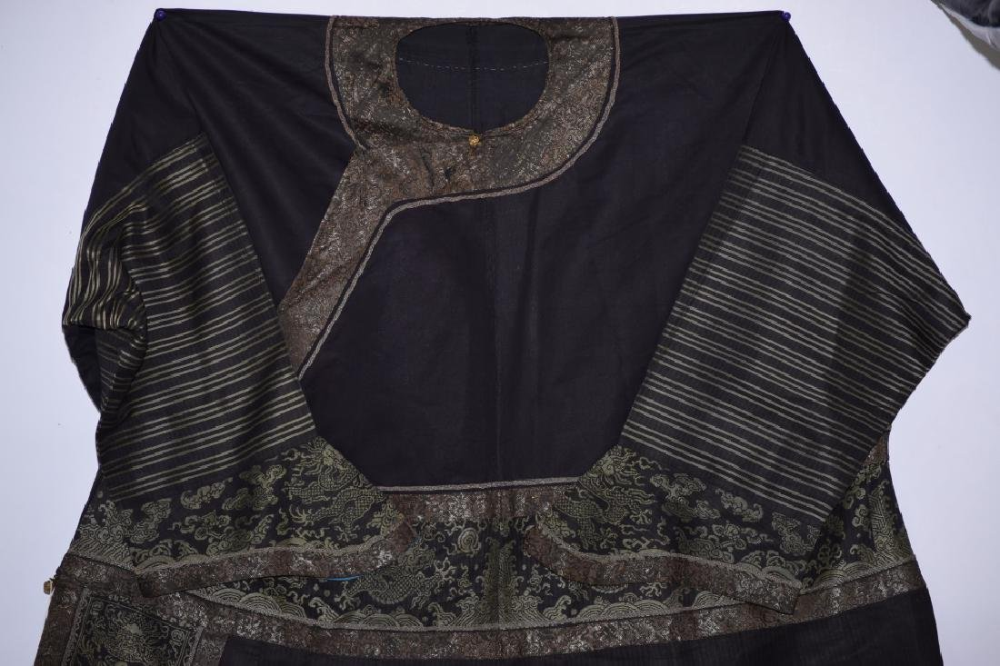 Qing Chinese Embroidered Emperor's Summer Robe - 2