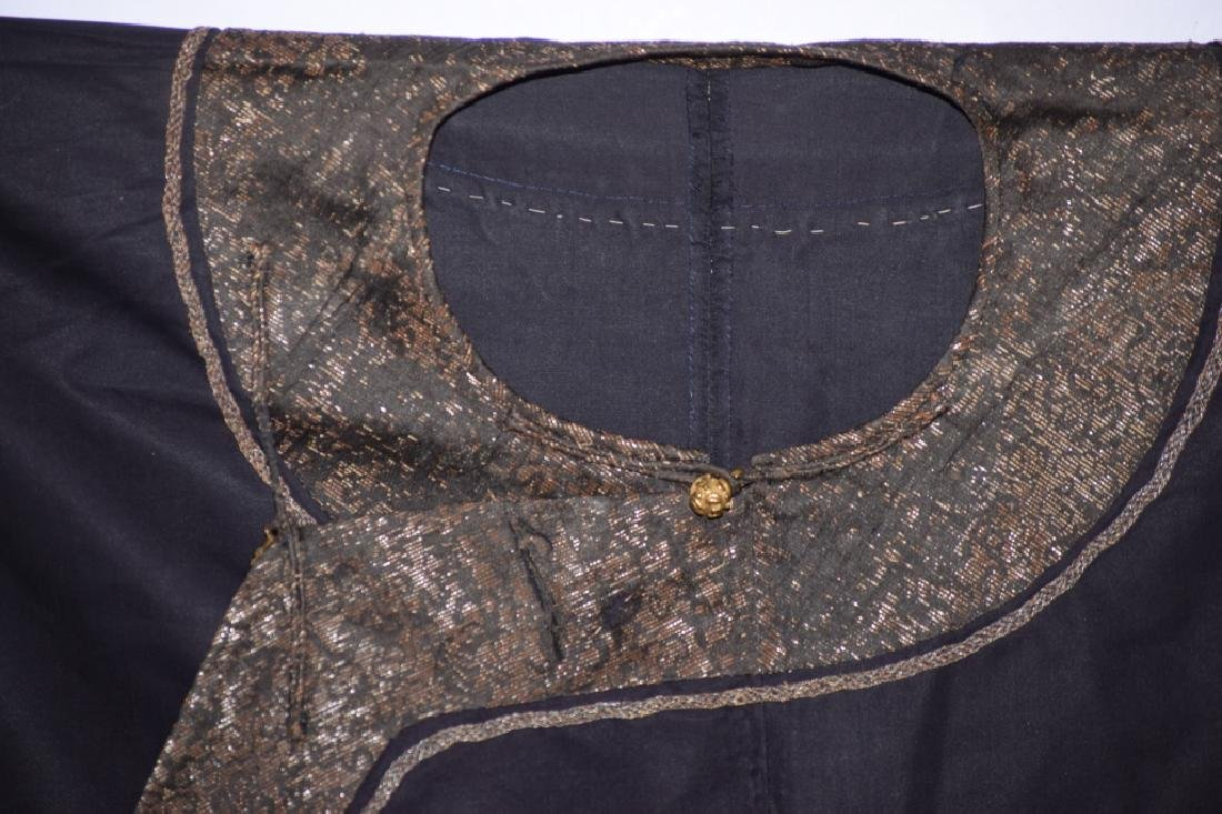 Qing Chinese Embroidered Emperor's Summer Robe - 8