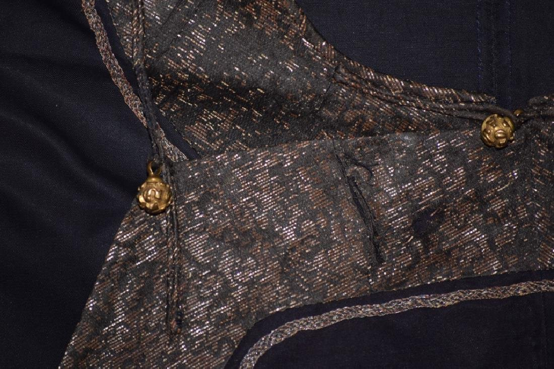 Qing Chinese Embroidered Emperor's Summer Robe - 9