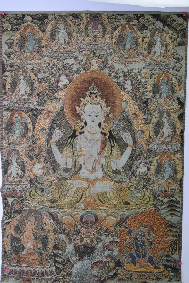 Chinese Embroidery of Thangka