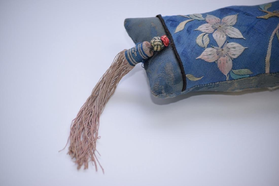 Qing Chinese Embroidered Wrist Rest - 2