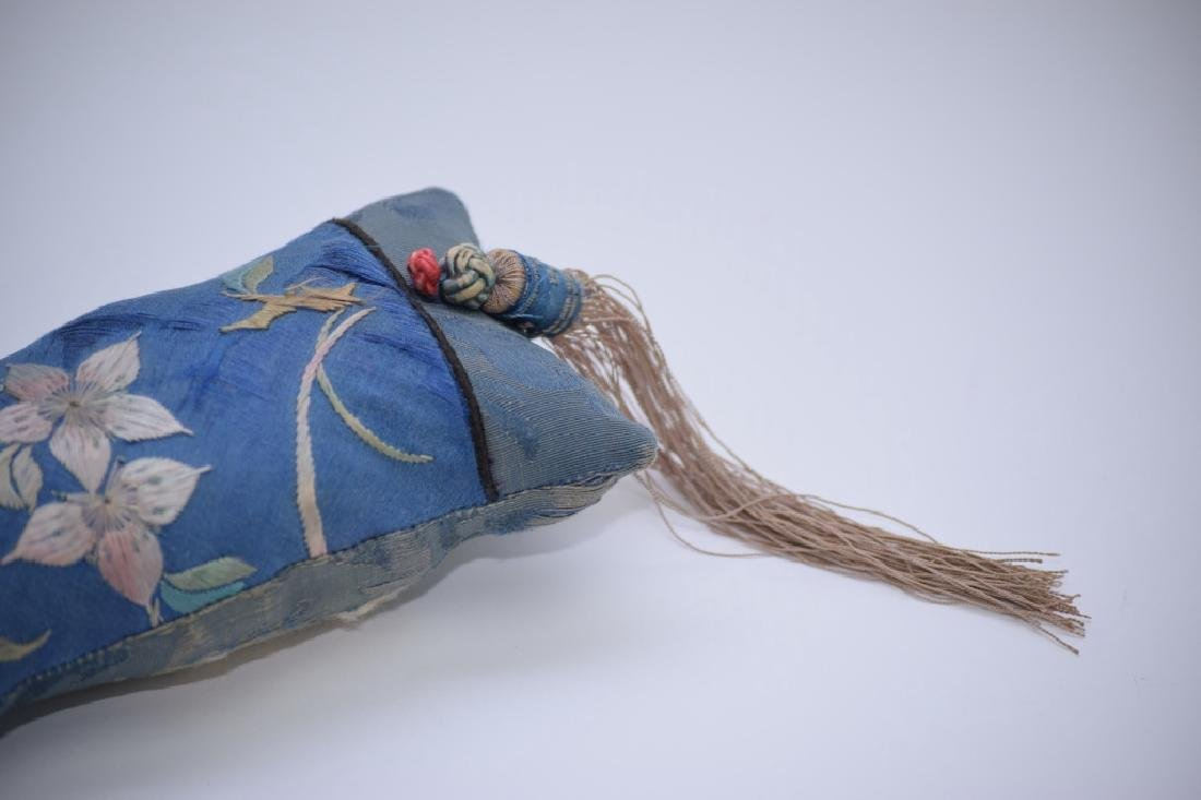 Qing Chinese Embroidered Wrist Rest - 3