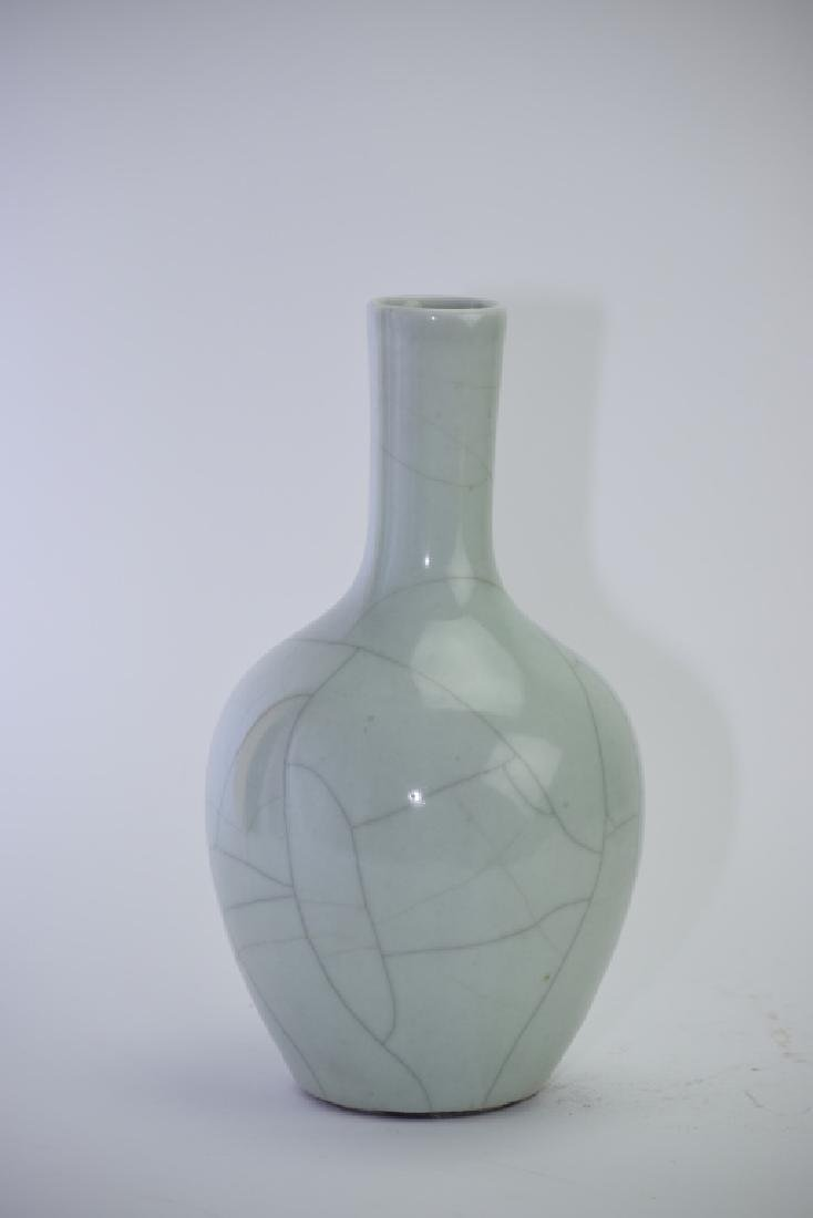 Republic Chinese Faux Ge Glaze Vase