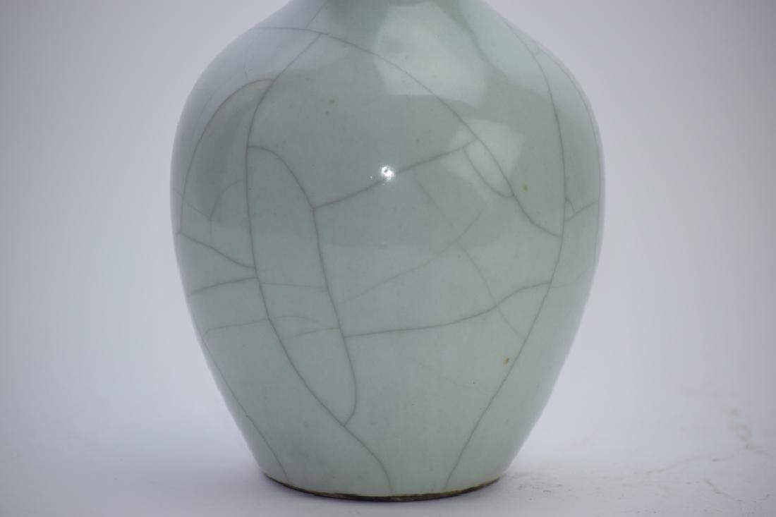 Republic Chinese Faux Ge Glaze Vase - 2