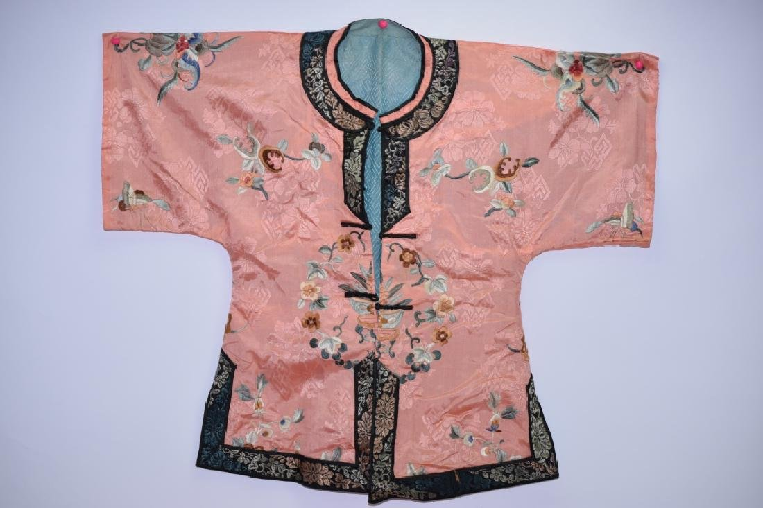 Set of Qing Chinese Embroidered Child's Clothes - 2