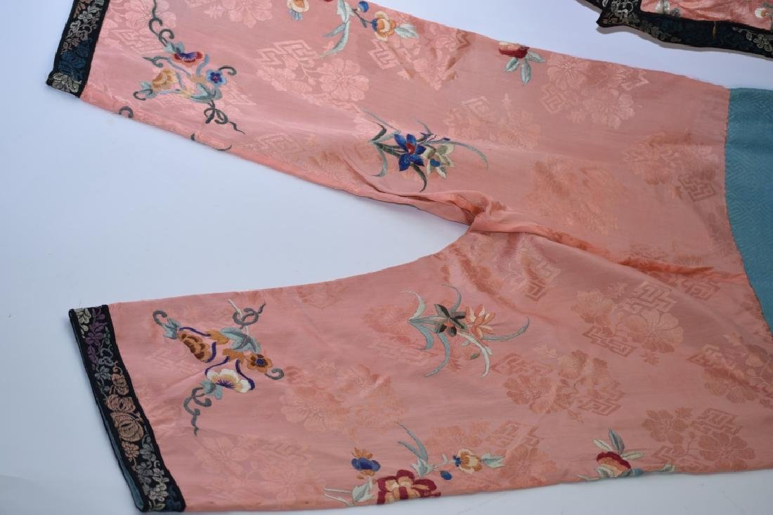 Set of Qing Chinese Embroidered Child's Clothes - 5