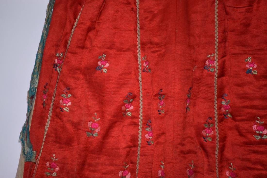 Qing Chinese Embroidered Skirt - 4