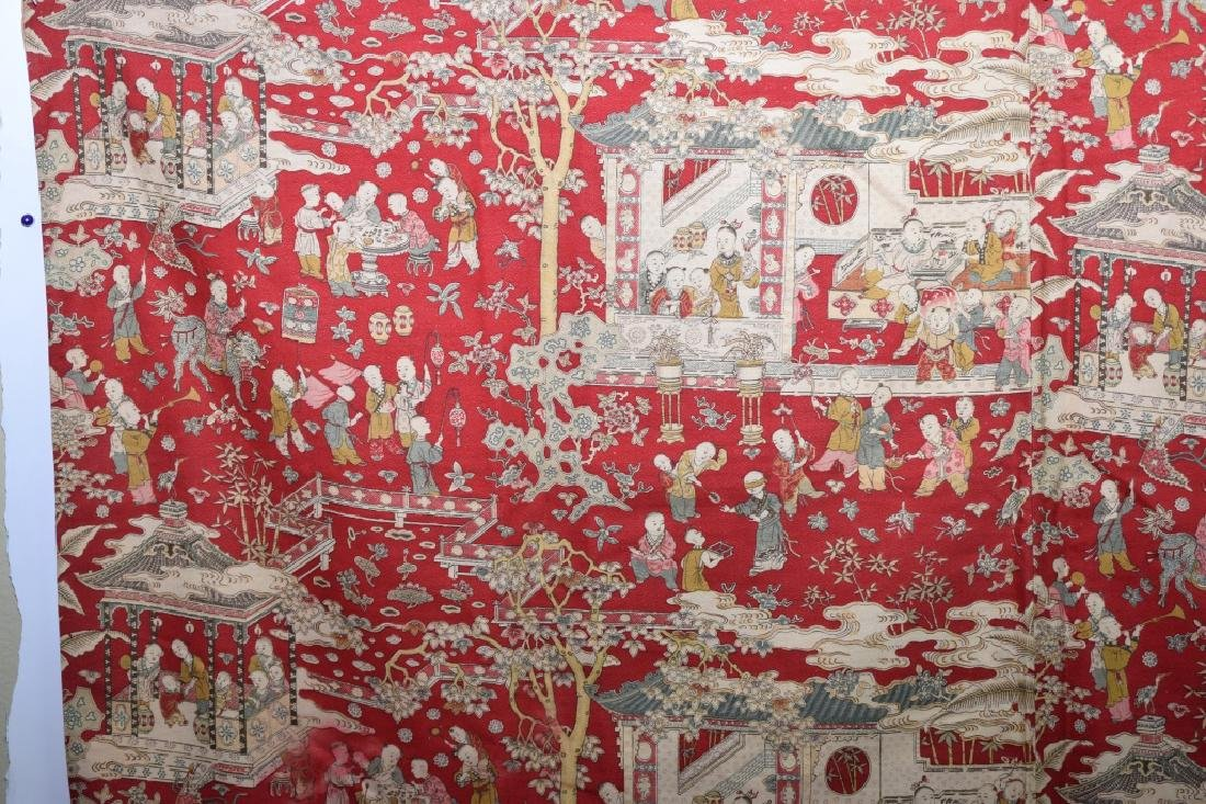 Qing Chinese Embroidery of Hundred Children - 2