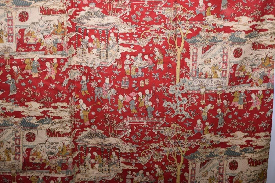 Qing Chinese Embroidery of Hundred Children - 4