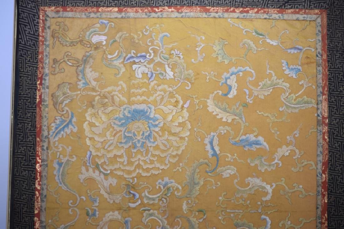 Qing Chinese Embroidery in Frame - 2