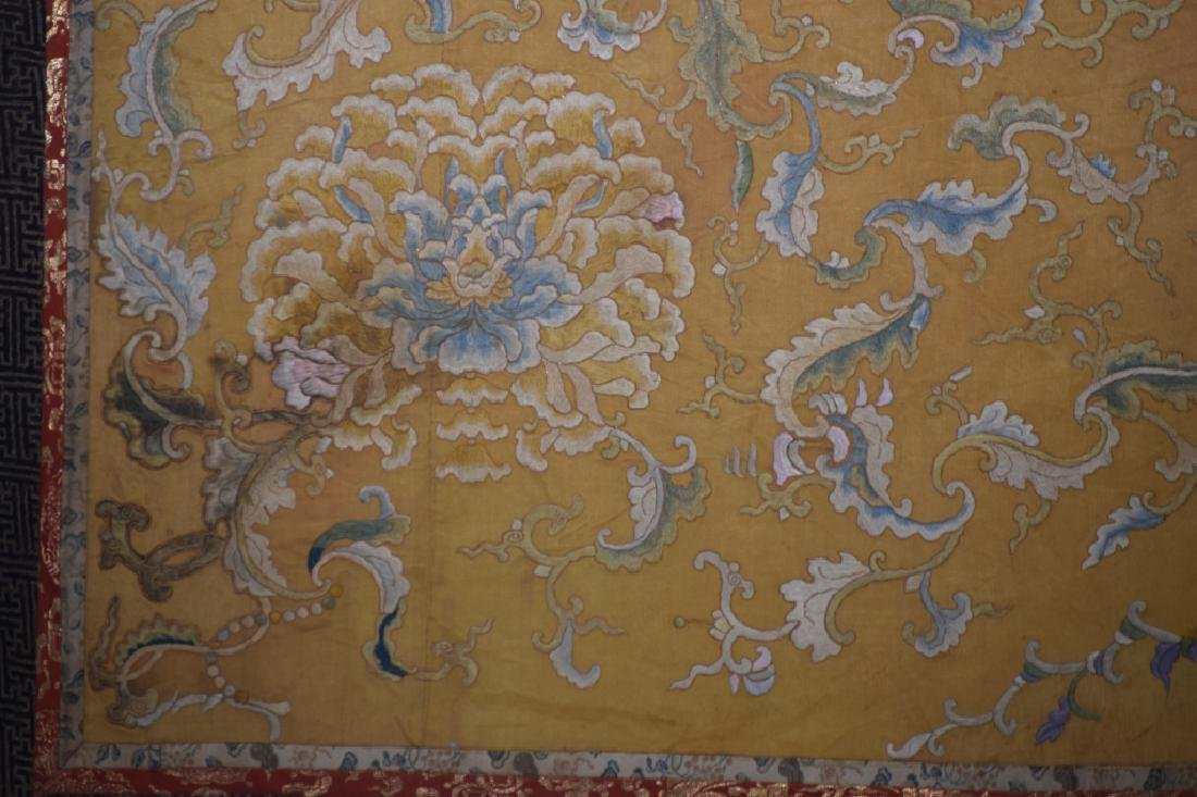 Qing Chinese Embroidery in Frame - 3