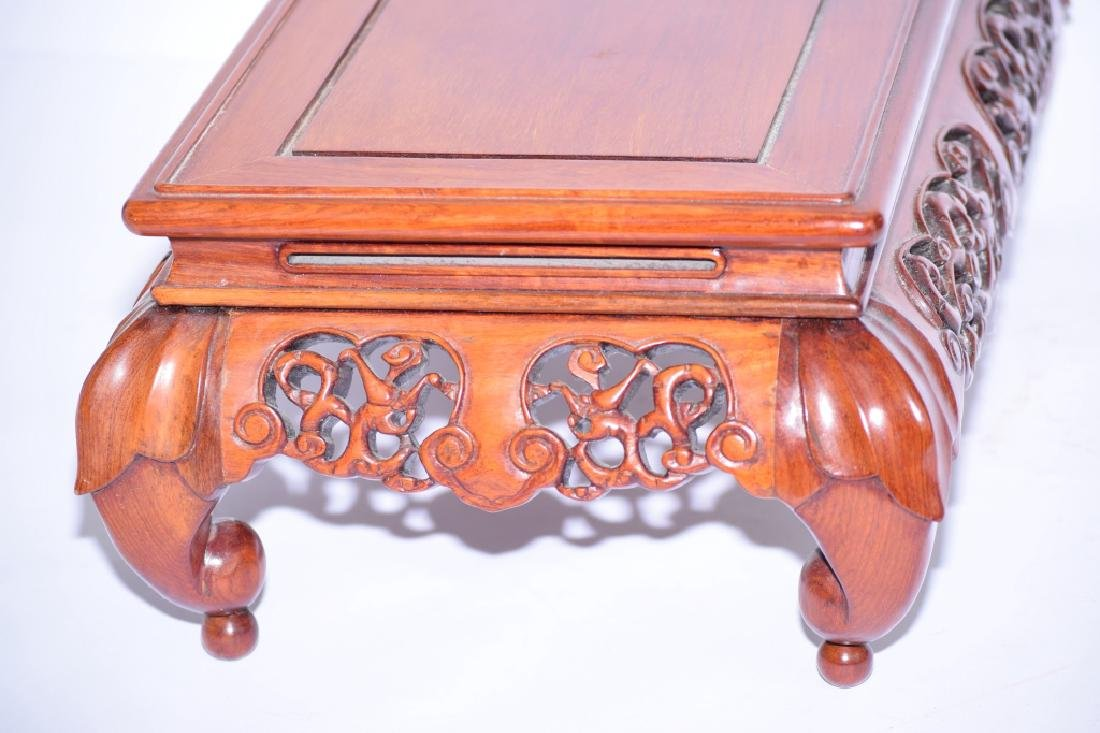 Republic Chinese Wood Carved Stand - 2