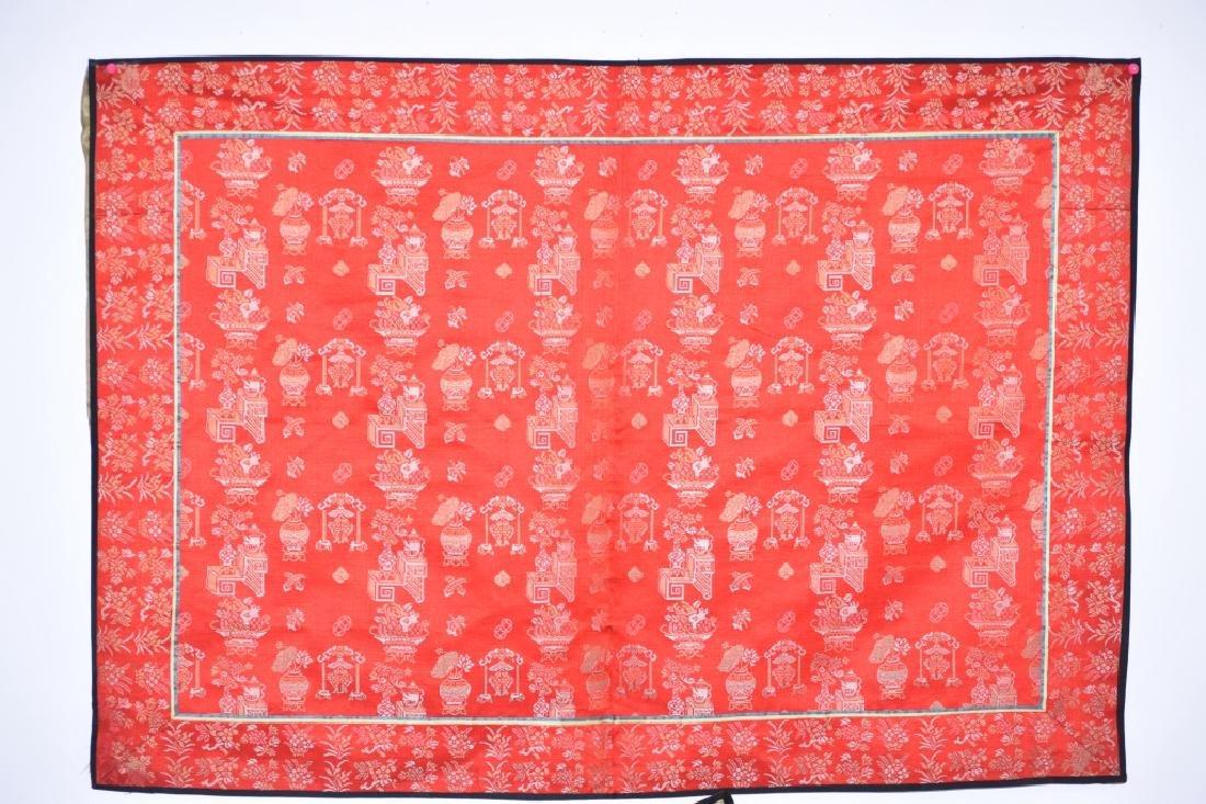 Qing Chinese Silk Brocade
