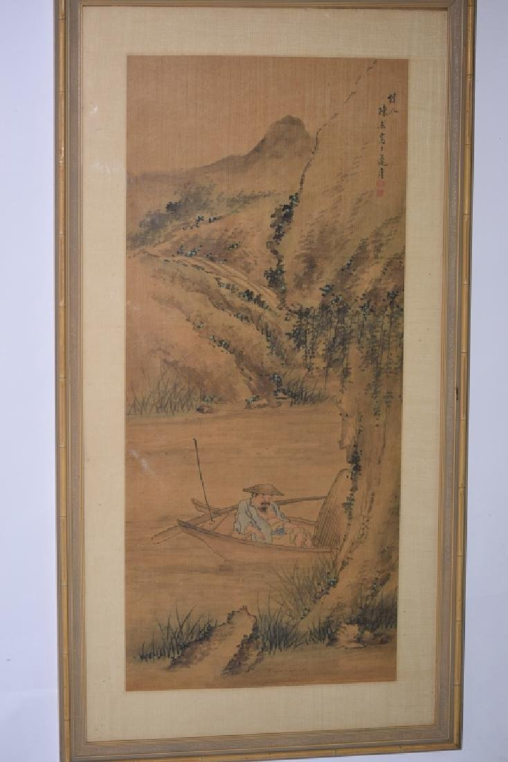 Chinese Watercolor Painting, after Chen Jie