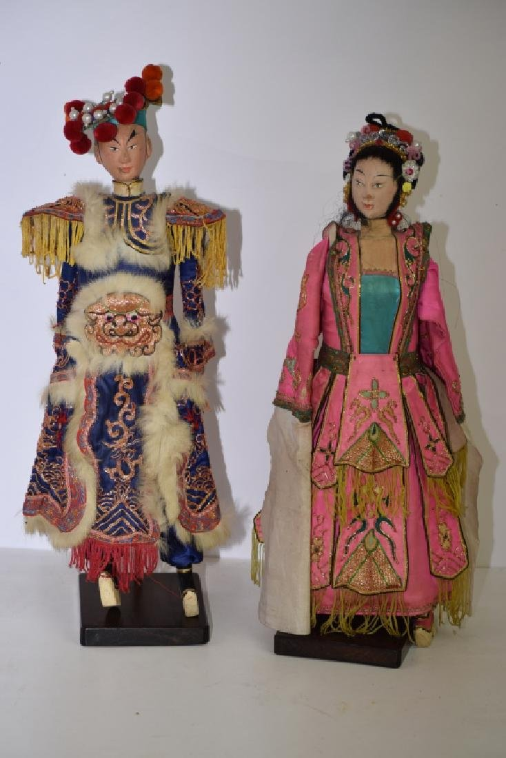 Two Chinese Puppets