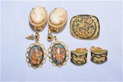 Group of Costume Earrings