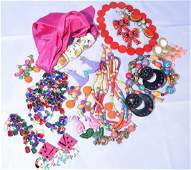 Group of Funky Costume Jewelry