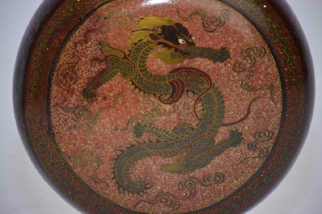 Meiji Period Japanese Cloisonne Vase - 2