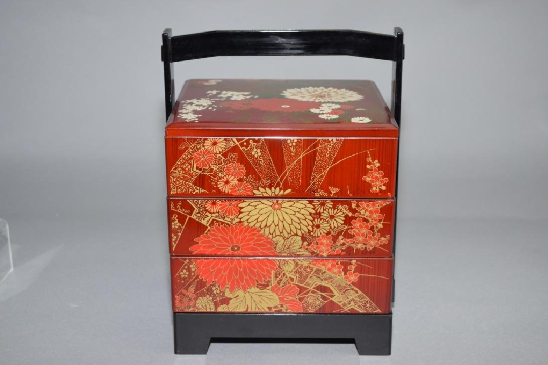 Japanese Lacquer Snack Box