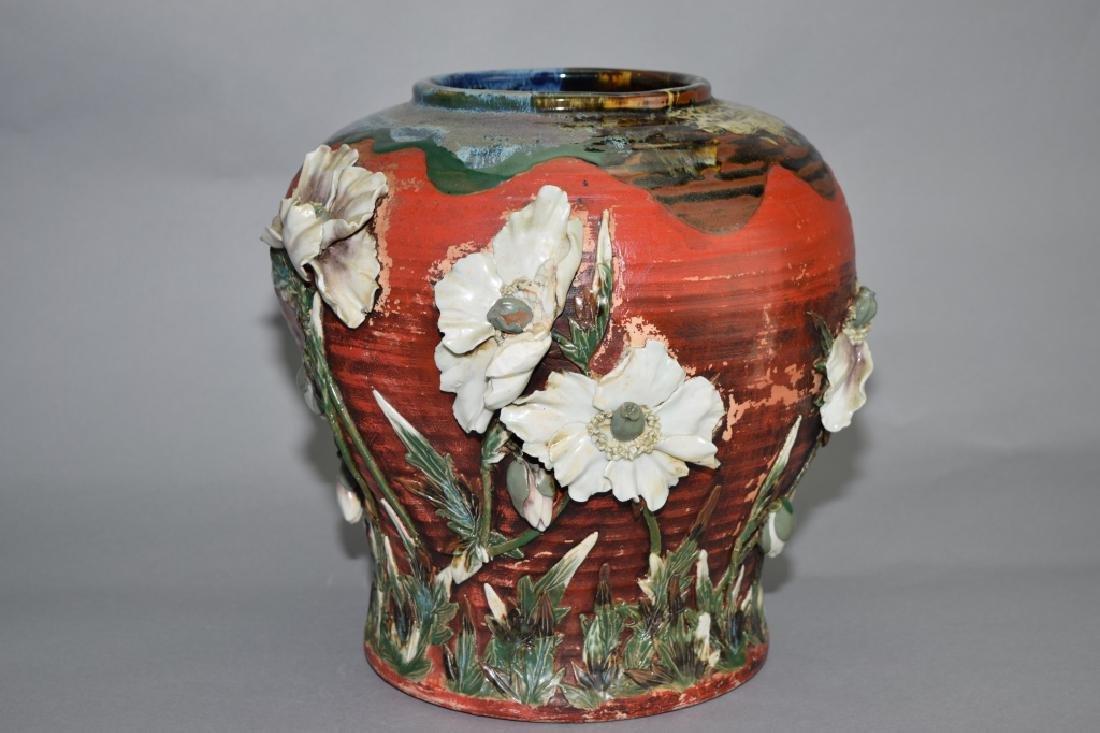 19th C. Japanese Glaze Jar