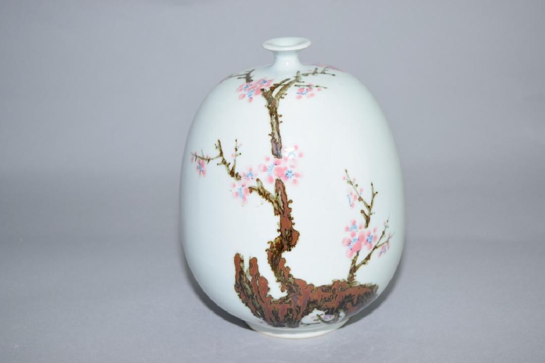 Japanese Cherry Blossom Vase