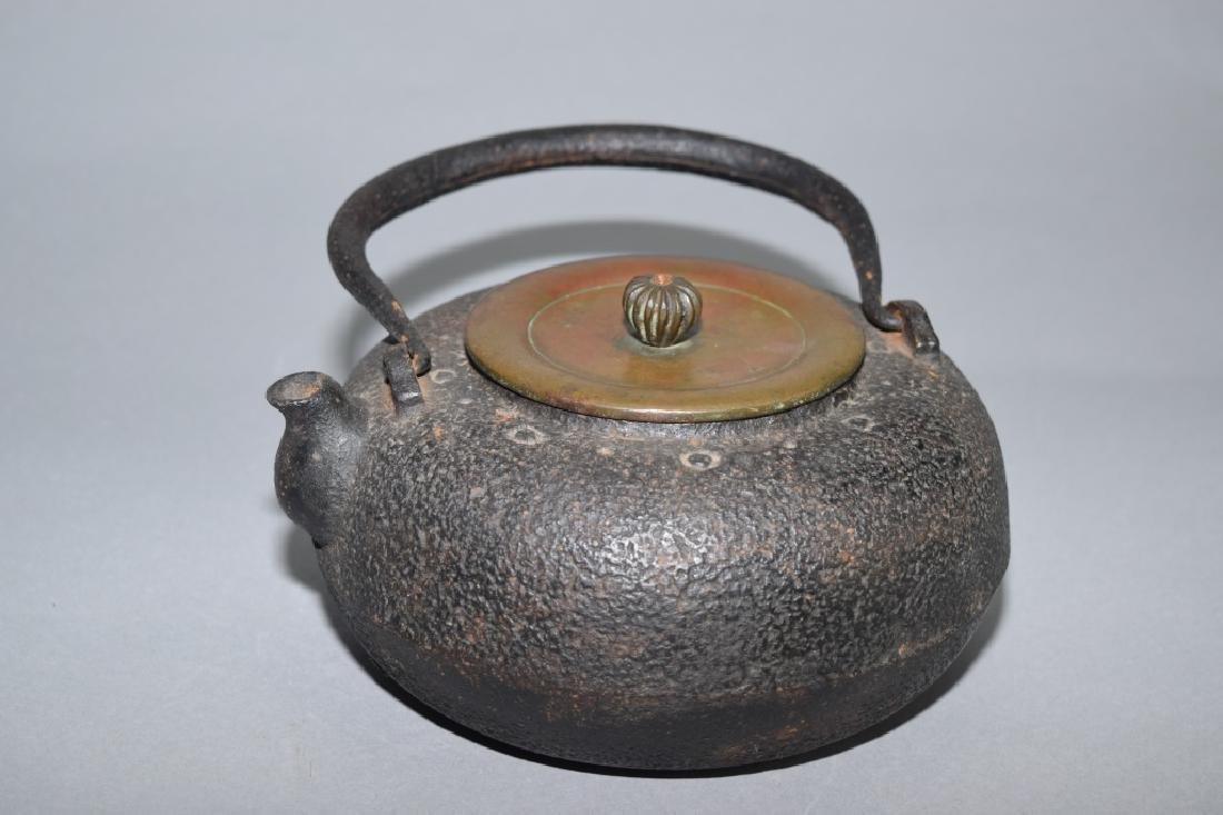 19th C. Japanese Metal Water Pot