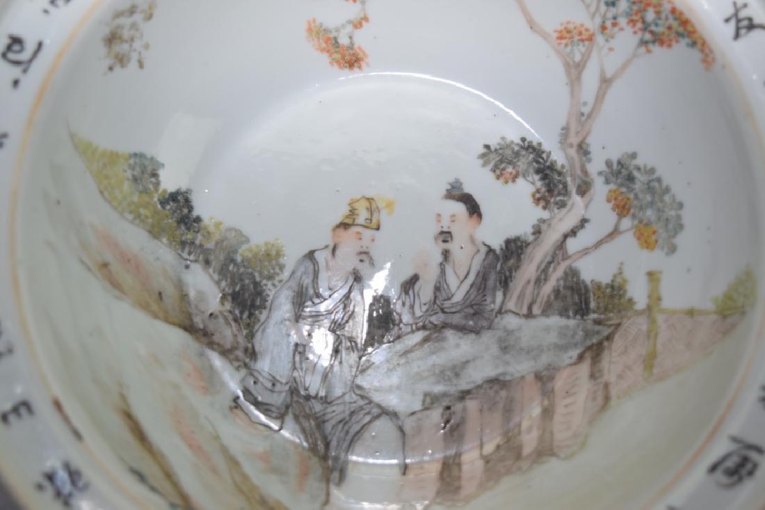 Late Qing Chinese Famille Verte Bowl, Wang YongTai - 2