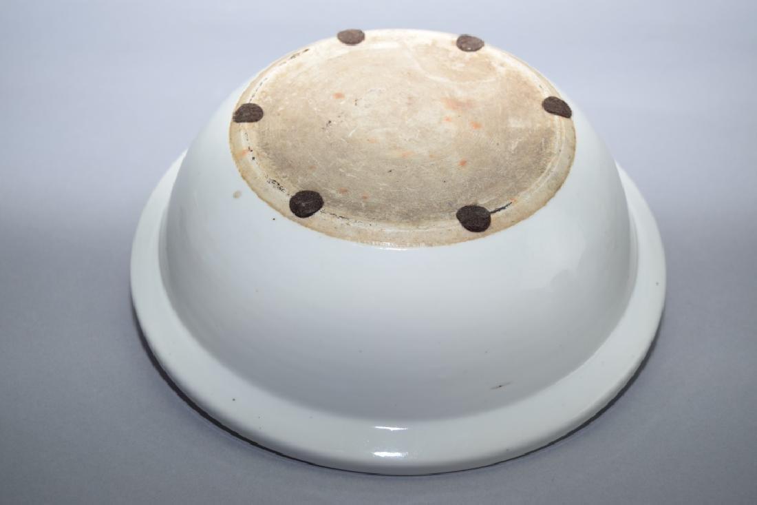 Late Qing Chinese Famille Verte Bowl, Wang YongTai - 6