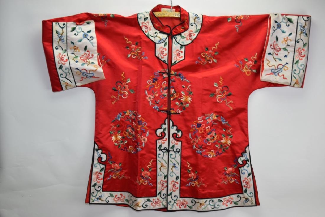 Qing Chinese Embroidered Robe