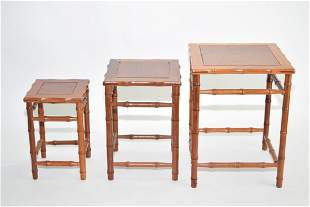 Set of Republic Chinese Rosewood Tables