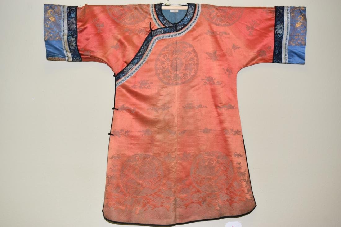 Qing Chinese Embroidered Lady's Robe
