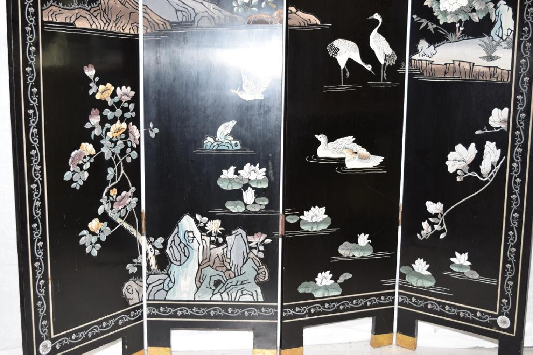 Chinese Lacquer Screen - 4