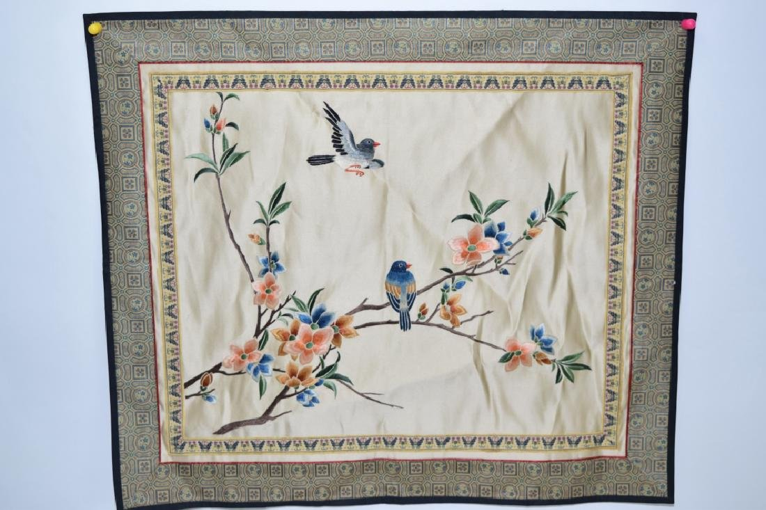 Chinese Embroidery of Birds