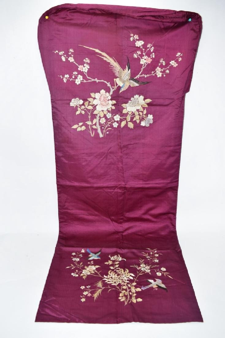 Chinese Embroidery of Birds and Flowers