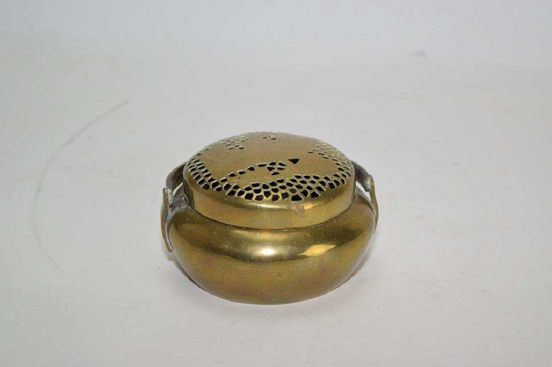 Chinese Brass Hand Warmer