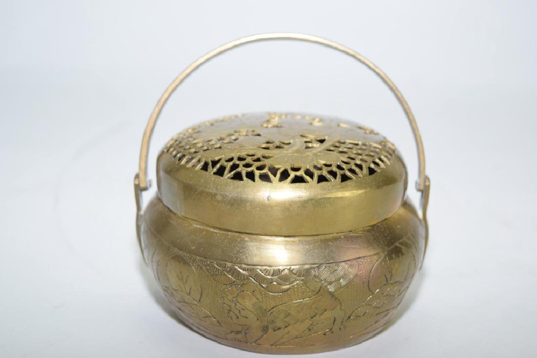 Chinese Brass Hand Warmer, Ming XuanDe Mark