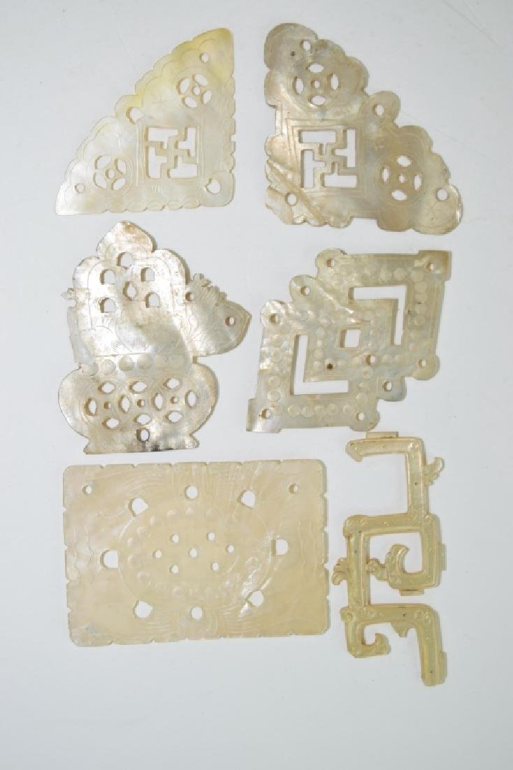 Group of Chinese Mother-of-Pearl Carvings