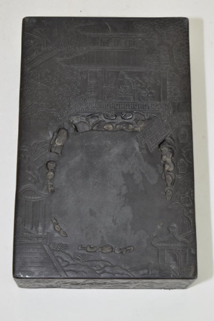 Chinese Stone Carved Ink Well