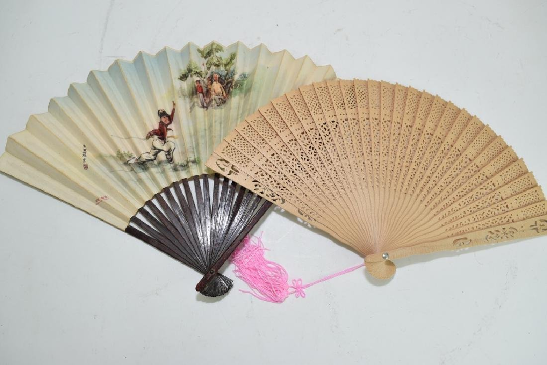 Two Chinese Fans
