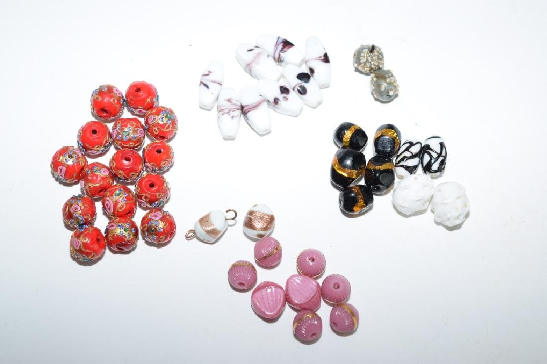 Group of Glass Beads