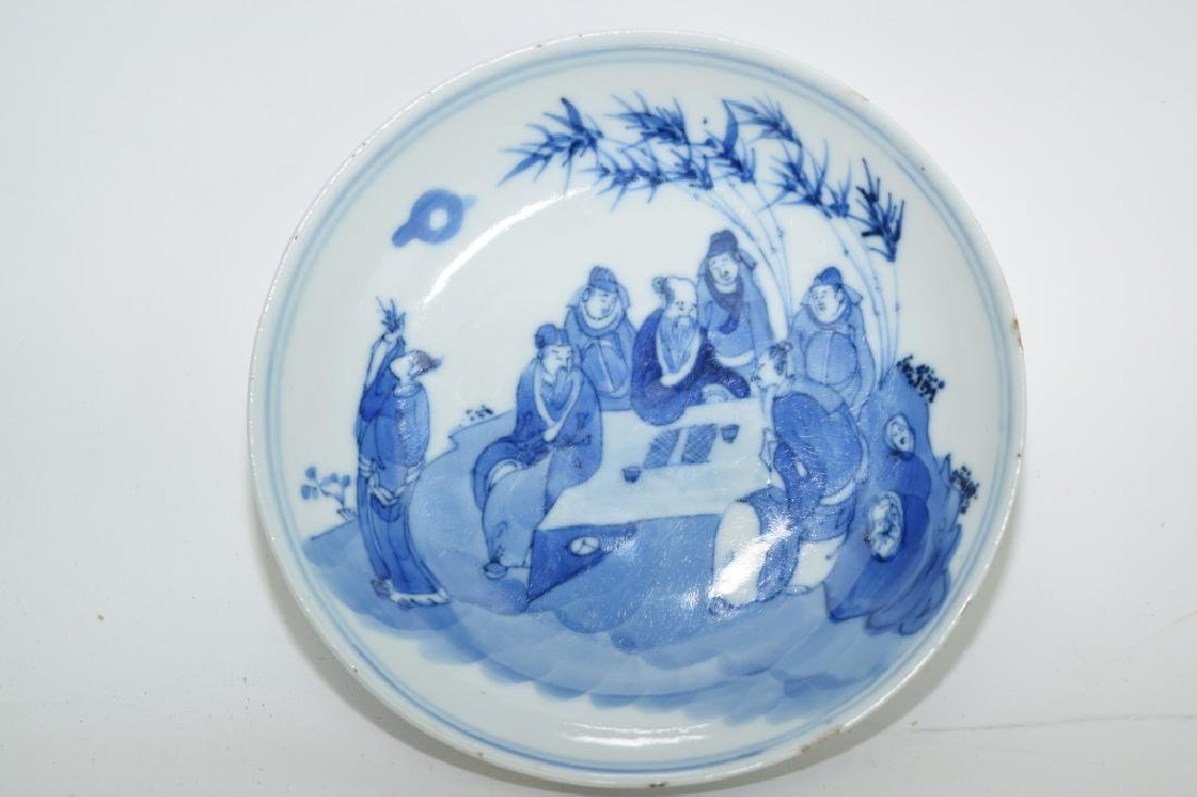 KangXi Chinese Blue and White Plate